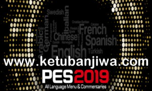 PES 2019 All Commentary Files + Language Menu
