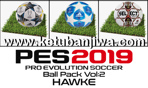 PES 2019 Ballpack Vol. 2 by Hawke Ketuban Jiwa