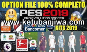 PES 2019 Option File v4.0 + Legends AIO For PS4 + PC by Rvgrapha Ketuban Jiwa