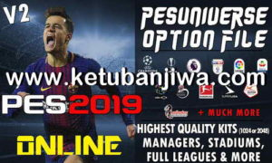 PES 2019 PES Universe Option File v2 AIO For PS4 + PC Ketuban Jiwa