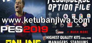 PES 2019 PESUniverse Option File v2 AIO