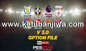 PES 2019 PS4 PESNews Option File v3 AIO