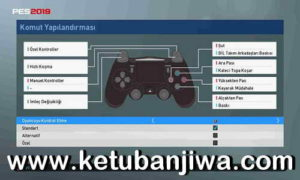 PES 2019 PS4 Controller For PC by Erolkopuz Ketuban Jiwa