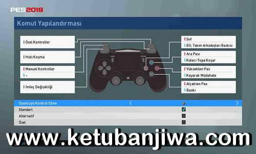 PES 2019 PS4 Controller For PC by Erolkopuz Ketuban Jiwa
