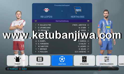 PES 2019 PS4 FBNZ Bundesliga Option File v1 Ketuban Jiwa