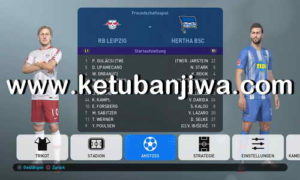 PES 2019 PS4 FBNZ Bundesliga Option File v1.5 AIO Ketuban Jiwa