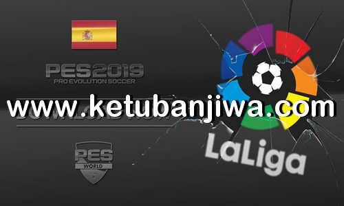 PES 2019 PS4 La Liga Option File by PES World Ketuban jiwa
