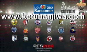 PES 2019 PS4 Liga BBVA Bancomer Mx Option File by C&D Ketuban Jiwa