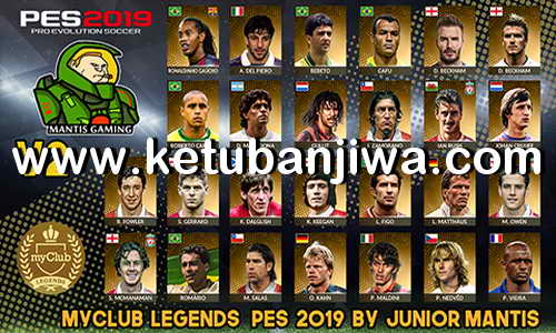 PES 2019 PS4 MyClub Legends Offline Patch v2 Ketuban Jiwa