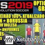 PES 2019 PS4 + PC Option Files 2.0 + Legends