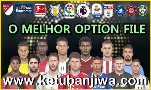 PES 2019 PS4 + PC Pes Vício BR Option File v4 AIO Ketuban Jiwa