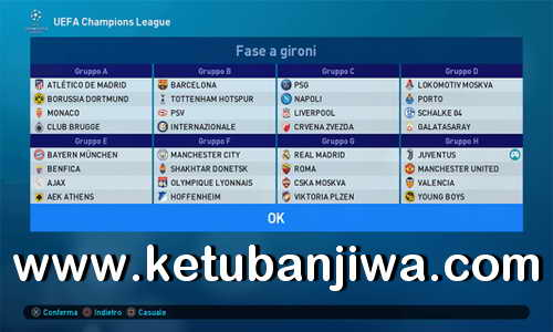 PES 2019 PESFan Option File v5 For PS4