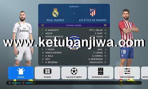 PES 2019 PS4 PESFan Option Files v3 Ketuban Jiwa