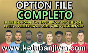 PES 2019 PesVícioBR Option File v3 AIO For PS4 + PC Ketuban Jiwa