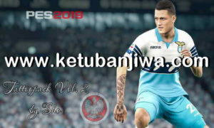 PES 2019 Tattoos Pack Vol. 2 by Sho Ketuban Jiwa