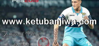 PES 2019 Tattoos Pack Vol. 2 by Sho96