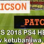 PES 2018 PS4 HEN Ericson Patch 2.1 AIO Season 2019