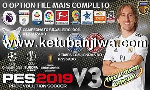 Download PES2019 Option File v3 AIO For PS4 by Emerson Pereira Ketuban Jiwa