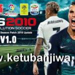 PES 2010 Next Season Patch 2019 + Update 1.0