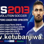 PES 2013 UEFA Champions League Mod Season 2019