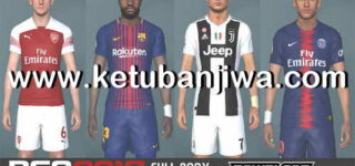 PES 2017 Full Body Modpack Like PES 2019