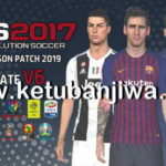 PES 2017 Next Season Patch 2019 Update 6.0