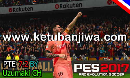 PES 2017 PTE 7.2 Update Unofficial Season 2019 by Uzumaki CH Ketuban Jiwa