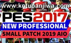 PES 2017 Professional Small Patch Season 2019 AIO