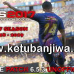 PES 2017 Unofficial PTE Patch 6.5.3 Update 07/10/2018