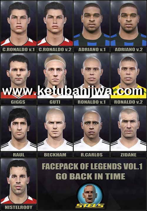 PES 2018 Facepack Of Legends Vol. 1 by Stels Ketuban Jiwa