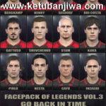 PES 2018 Facepack Of Legends Vol. 3 by Stels
