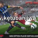 PES 2018 Option File Final Update 15/10/2018 For PTE 5.1