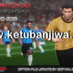 PES 2018 Option File Final Update 28/10/2018 For PTE 5.1