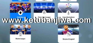 PES 2019 Menu For PES 2011 by AlbPatch Ketuban Jiwa
