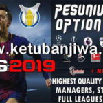 PES 2019 PESUniverse Option File v3 AIO