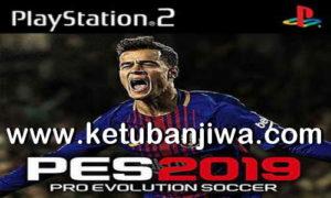 PES 2019 PS2 English Version ISO File Season 18-19 Single Link Ketuban Jiwa