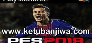 PES 2019 PS2 English Version ISO File Season 18-19 Single Link Ketuban Jiwa