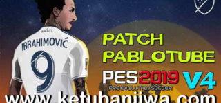 PES 2019 Pablotube Patch v4 Fix Brasileirão Squad