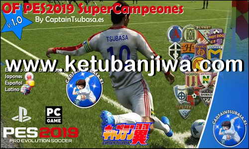 PES 2019 Supercampeones Option File v1.0 For PS4 by CaptainTsubasa Ketuban Jiwa