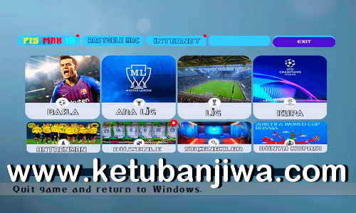 PES 6 PESMAX Patch Season 2018-2019 Ketuban Jiwa SS2