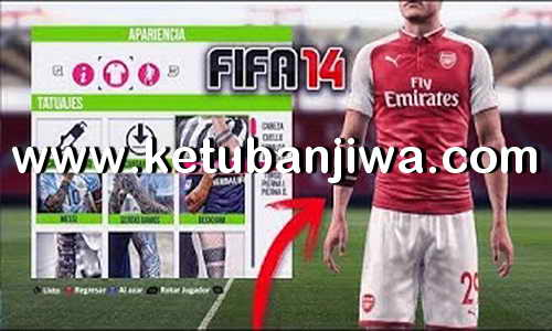 FIFA 14 Mega Tattoo Pack Season 2019 Ketuban Jiwa