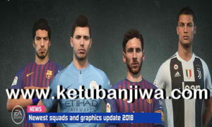 FIFA 18 Squad Update 13 November 2018 For Original + Crack by IMS Ketuban Jiwa