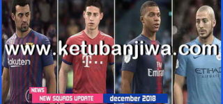 FIFA 18 Squad Update 30/11/2018 Original + Crack