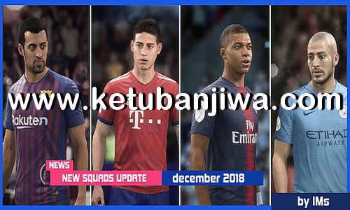 FIFA 18 Squad Update 30 November 2018 For Original + Crack by IMS Ketuban Jiwa