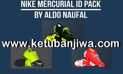 PES 2017 Nike Mercurial ID Bootpack by Aldo Naufal Ketuban Jiwa