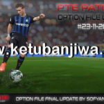 PES 2018 Option File Final Update 23/11/2018 For PTE 5.1