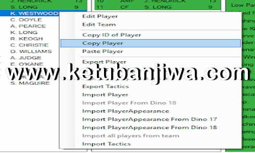 PES 2019 DinoTem Editor Version 1.6.0.0 by Lagun-2 Ketuban Jiwa