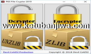 PES 2019 File Crypter Tool by Devil Cold52 Ketuban Jiwa