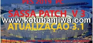 PES 2019 Sassa Patch 3.1 Update For PC