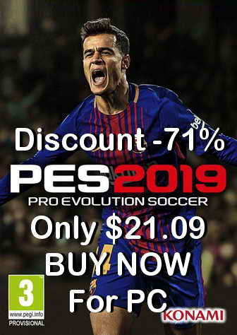 Pro Evolution Soccer PES 2019 PC Discount Price Ketuban Jiwa